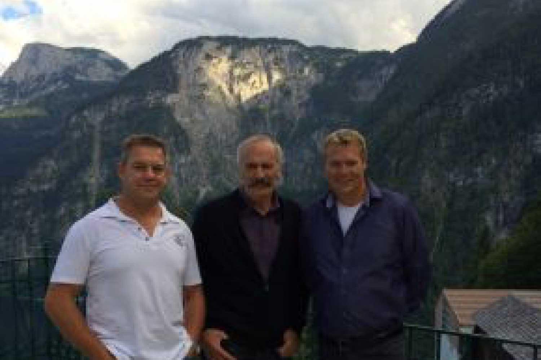 Hans Niederberger, Koos Boersma and Robert Van Voorst